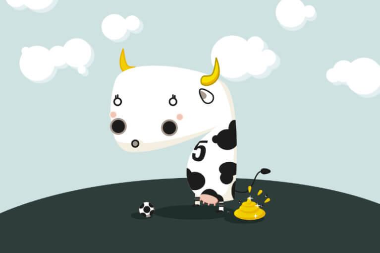 Caca de la vaca
